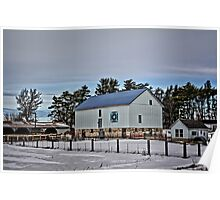 Quilted Mitchell Barn Poster
