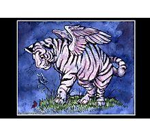 Winged Tiger Cub Photographic Print