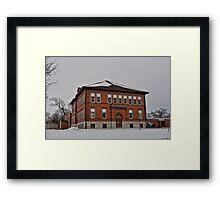 Marble Rock School Framed Print