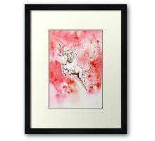 Elemental Fire Qilin Framed Print