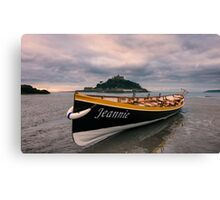 Jeannie at St. Michael's Mount Cornwall Canvas Print