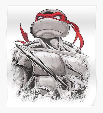 The Dangerous One Raphael TMNT Poster