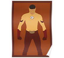 Kid Flash (Wally West) Minimalist Poster
