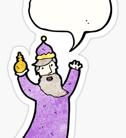 one of the three wise men Sticker