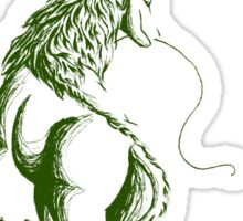 Elemental Earth Qilin Sticker