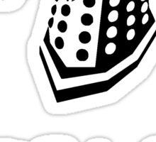 Dalek composition Sticker