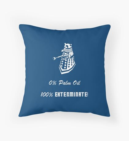 Dalek composition Throw Pillow