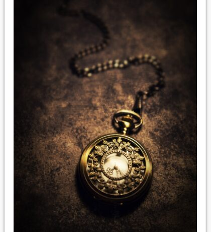 Ornamented pocket watch Sticker