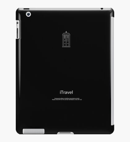 iTravel doctor who iPad Case/Skin