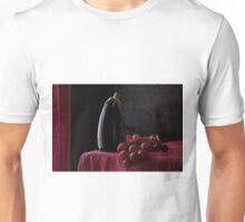 Aubergine and Grapes Unisex T-Shirt