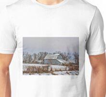 Winter On The Farm 5 Unisex T-Shirt