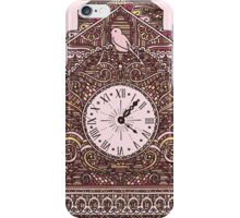 Autumn Cuckoo Clock iPhone Case/Skin
