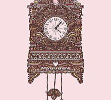 Autumn Cuckoo Clock by Corinna Djaferis