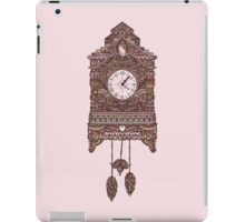 Autumn Cuckoo Clock iPad Case/Skin