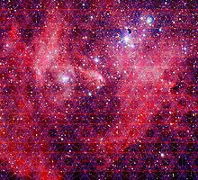 Spiderman Nebula | Sacred Geometry Patterns by SirDouglasFresh