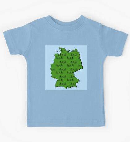 Cycling in Germany Kids Tee