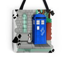 Police Public Call Dog Tote Bag