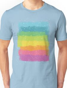 Rainbow chalk Unisex T-Shirt