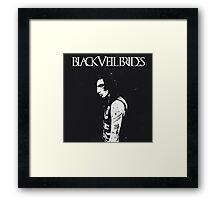 Black Veil Brides - Andy Biersack Framed Print