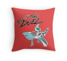 it's time to duel Throw Pillow