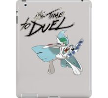 it's time to duel iPad Case/Skin