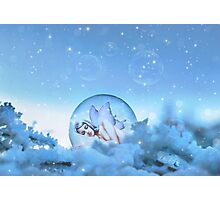Snow Fairy Photographic Print