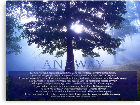 Anyway by NatureGreeting Cards ©ccwri