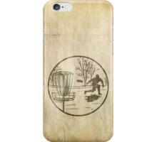 disc golfer iPhone Case/Skin