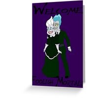 Haunting the Mansion Greeting Card