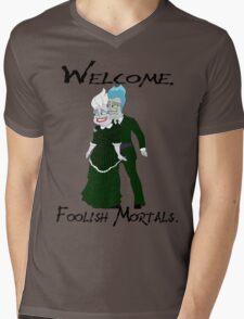 Haunting the Mansion Mens V-Neck T-Shirt