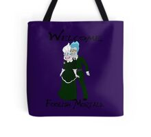 Haunting the Mansion Tote Bag