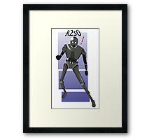 k2s0 star wars  Framed Print
