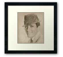 Andy Williams, Singer Framed Print