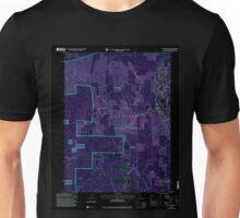 USGS TOPO Map California CA Willow Creek 102563 1997 24000 geo Inverted Unisex T-Shirt