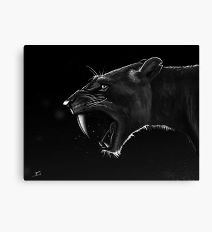 Sabre-toothed Canvas Print