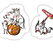 Okami Brush Gods Set2 Sticker