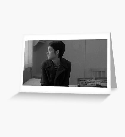 Winona Ryder - Girl, Interrupted Greeting Card