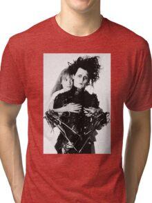 Depp + Ryder / Edward Scissorhands Tri-blend T-Shirt