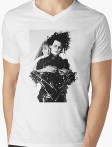 Depp + Ryder / Edward Scissorhands Mens V-Neck T-Shirt