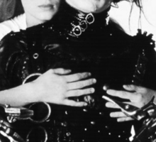 Depp + Ryder / Edward Scissorhands Sticker
