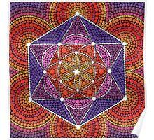 Fire Star- Genesis Pattern Poster