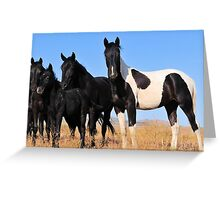 Band of Brothers and Sisters Greeting Card