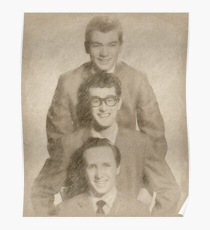 Buddy Holly and the Crickets Poster