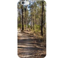 The meandering forest trail iPhone Case/Skin