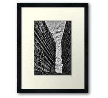 Charles III Fort Wall Rampart - Cartagena Spain Framed Print