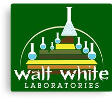 Walt White Laboratories  Canvas Print