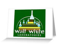 Walt White Laboratories  Greeting Card