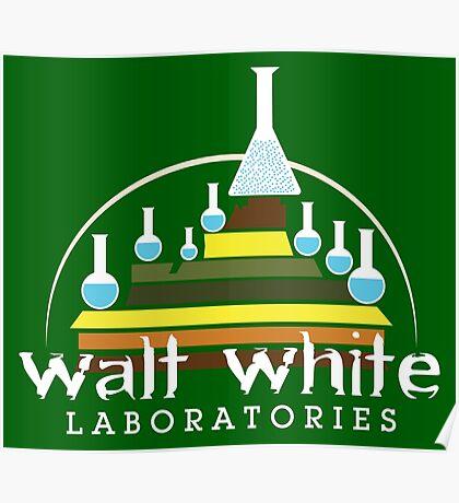 Walt White Laboratories  Poster