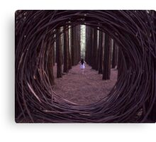 Forest Portal Canvas Print