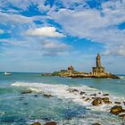 Kanyakumari, India by Jitesh Chauhan